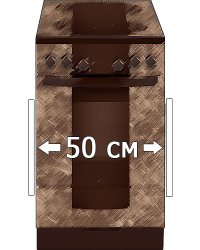 Электрические плиты 50х58,5