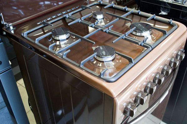 Газоэлектрическая плита Gefest 5102-02 0001 варочный стол