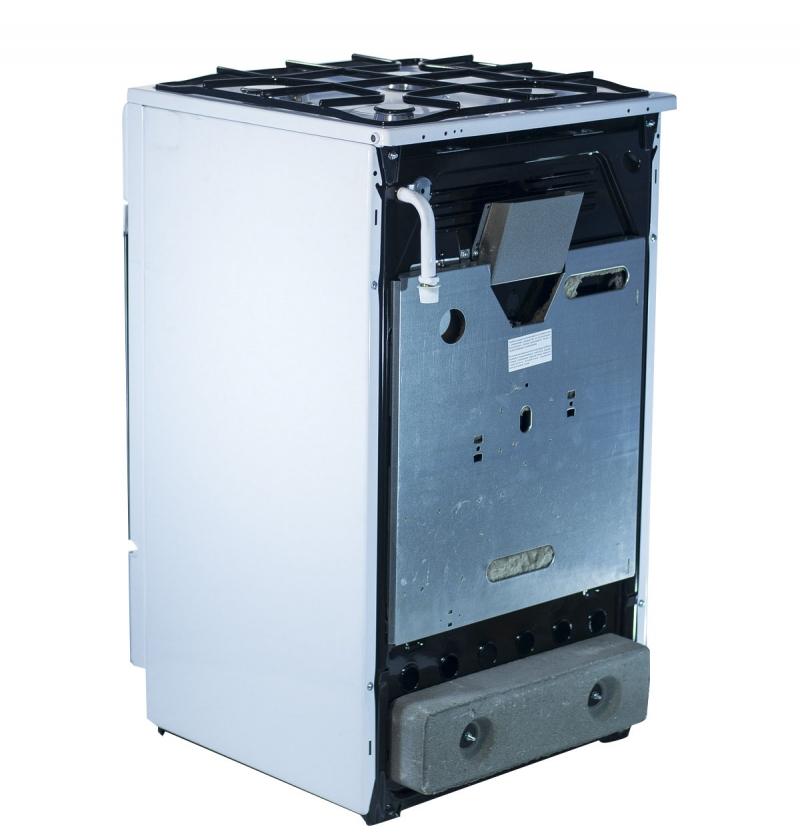 3D модель: Газовая плита Gefest 3100-08 вид сзади