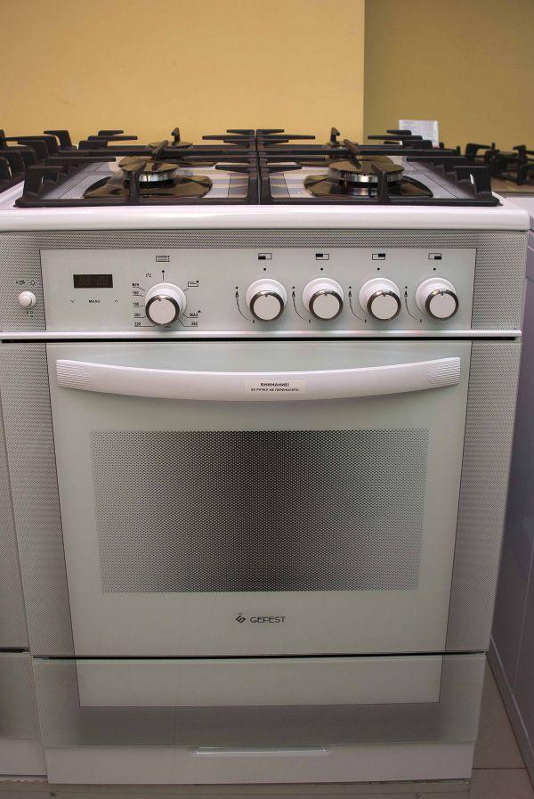 Газовая плита Gefest 6500-03 0042 - фасад