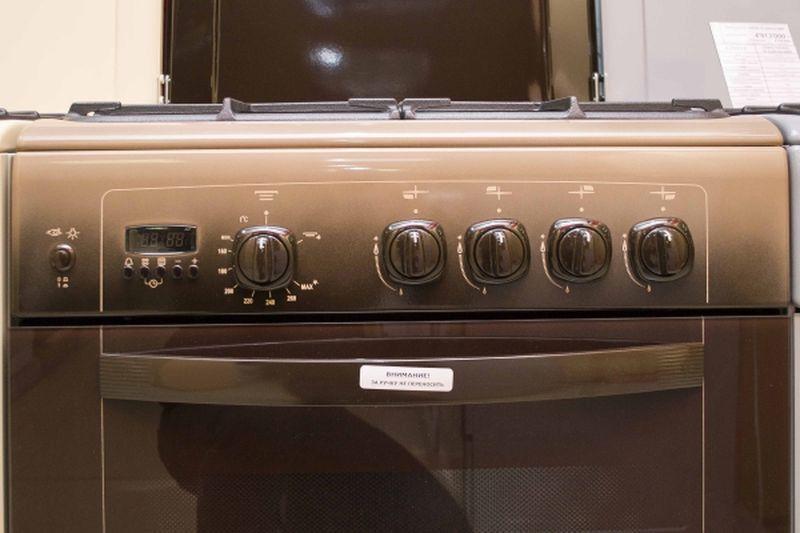 Газовая плита Gefest 6100-04 0001 (6100-04 K) - панель управления