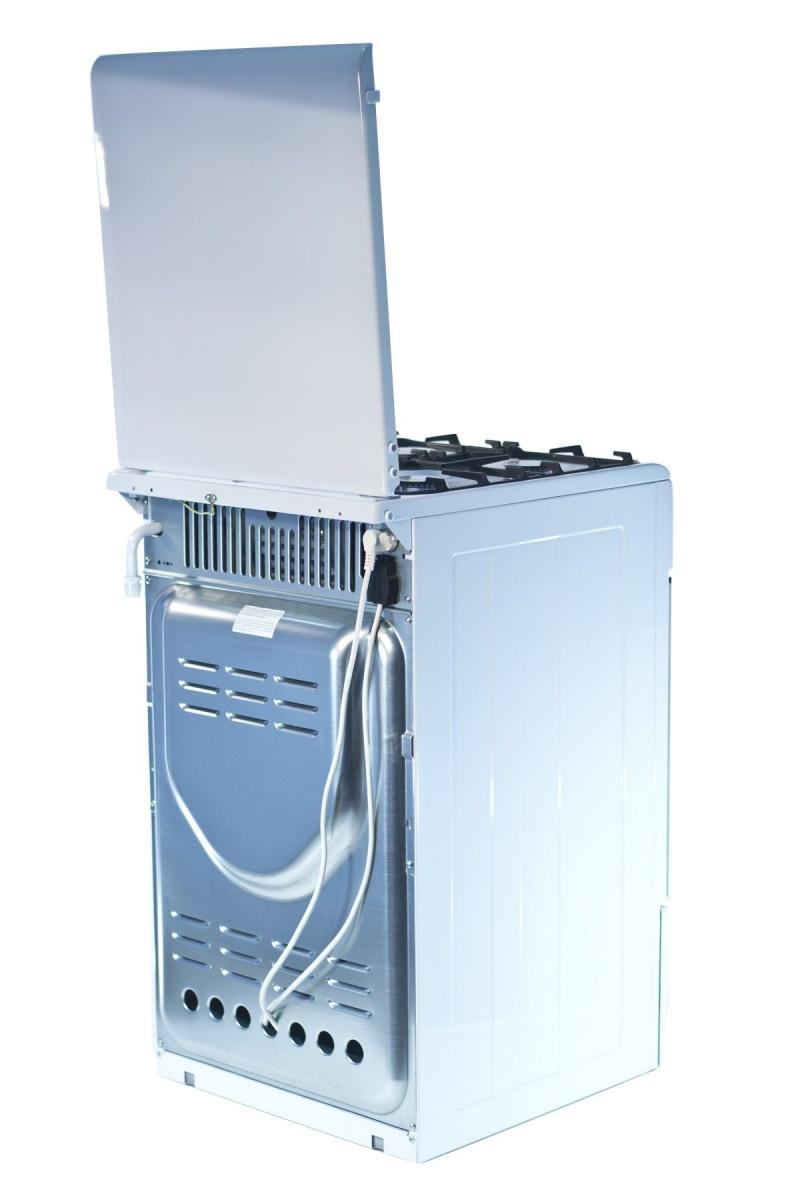 3D модель: Газоэлектрическая плита Gefest 5102-02 вид сзади