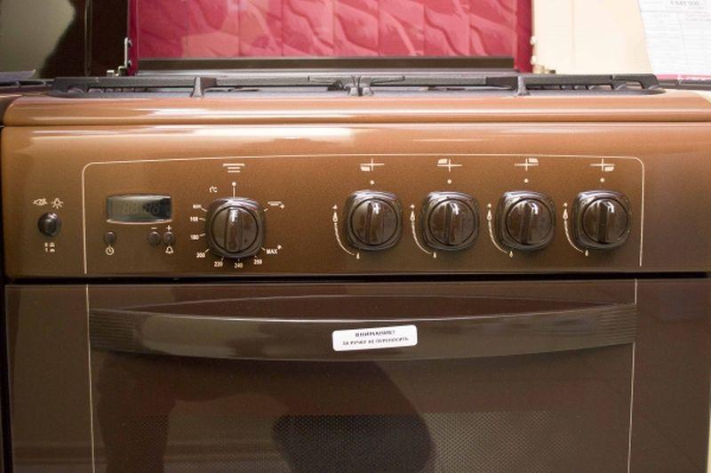 Газовая плита Gefest 6100-03 0003 (6100-03 СК) - панель управления
