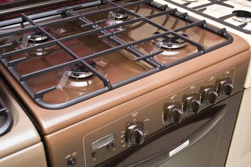 Газовая плита Gefest 6100-03 0003 (6100-03 СК) - конфорки