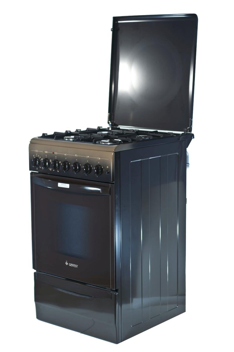 3D модель: Газоэлектрическая плита Gefest 5102-02 0001 фасад и панель