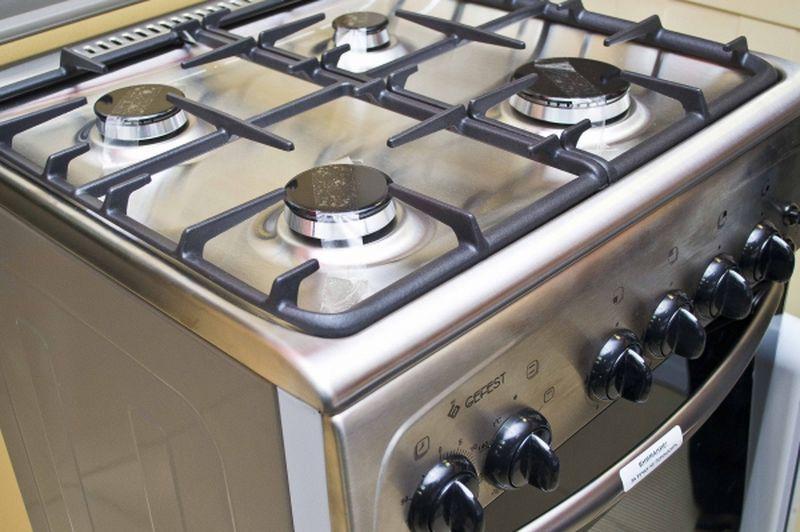 Газовая плита Gefest 3200 К62 - конфорки