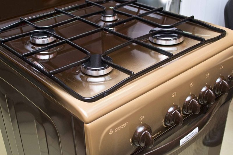 Газовая плита Gefest 3200-07 К19 - конфорки
