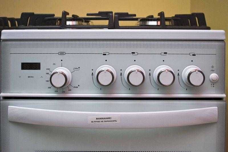 Газовая плита Gefest 5500-03 0042 - панель управления