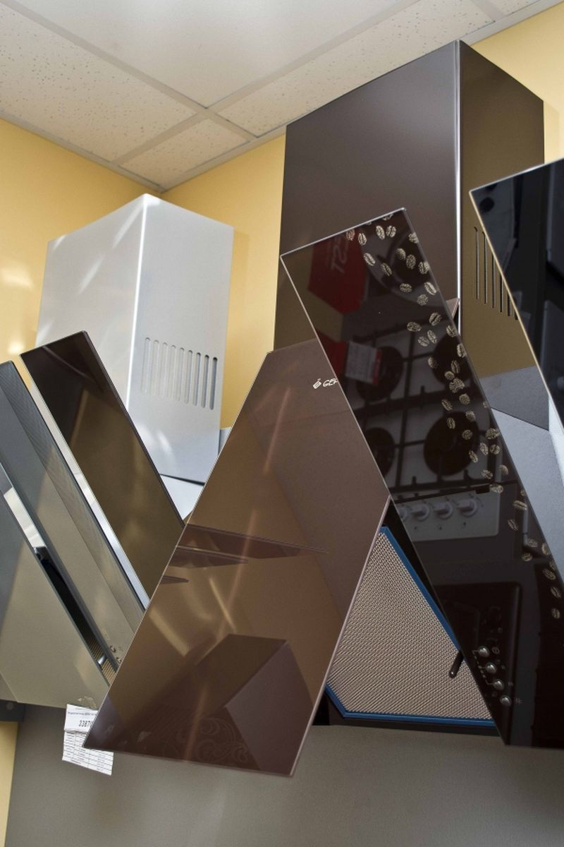 Кухонная вытяжка Gefest ВО 3603 К17 - вид сбоку