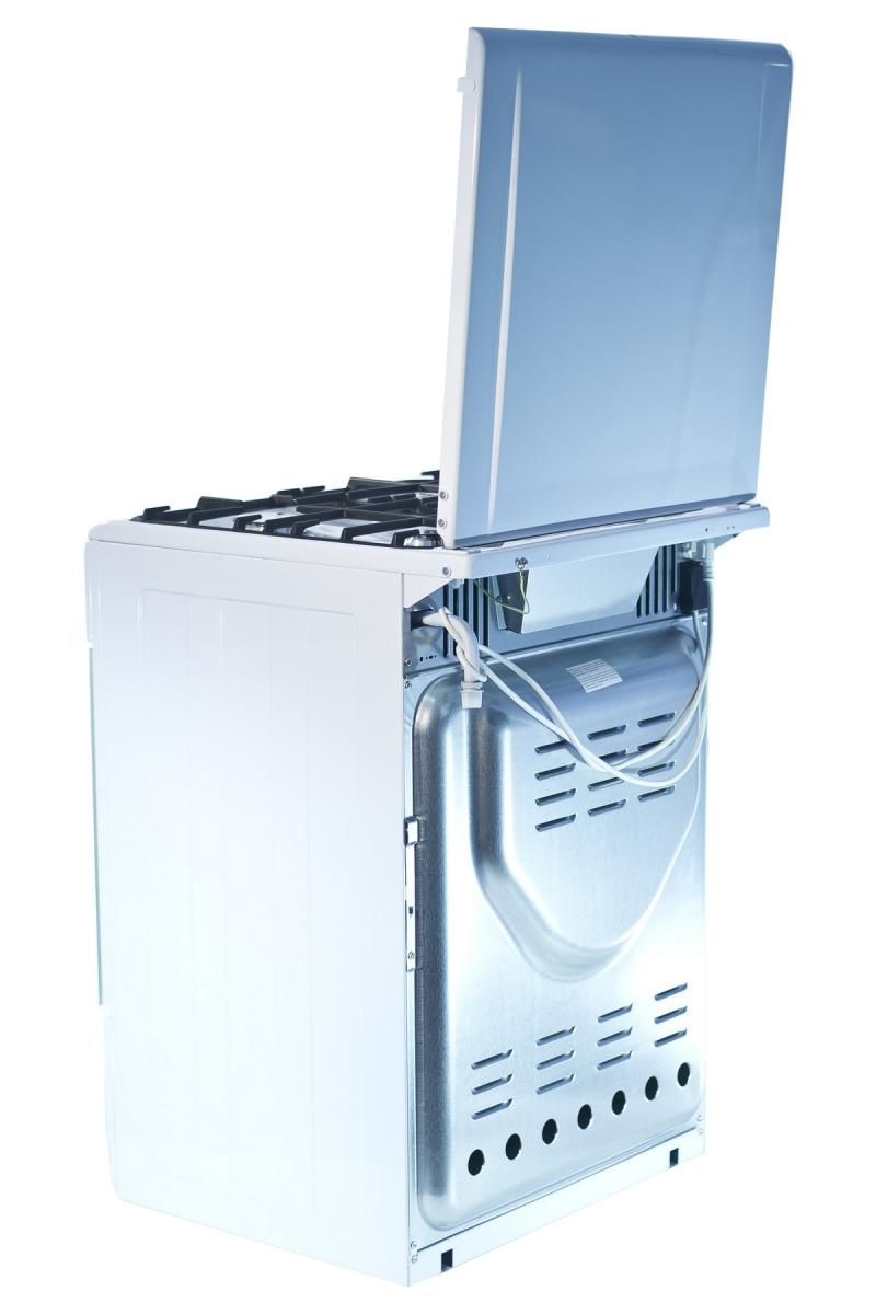 3D модель: Газовая плита Gefest 6100-01 вид сзади