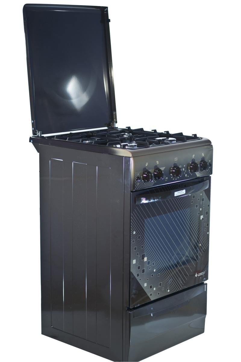 Газовая плита Gefest 5100-02 0010 (5100-02 Т2 К) вид в полоборота