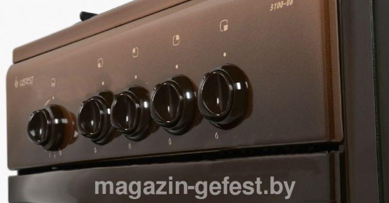 Газовая плита Gefest 3100-08 К19 - панель управления