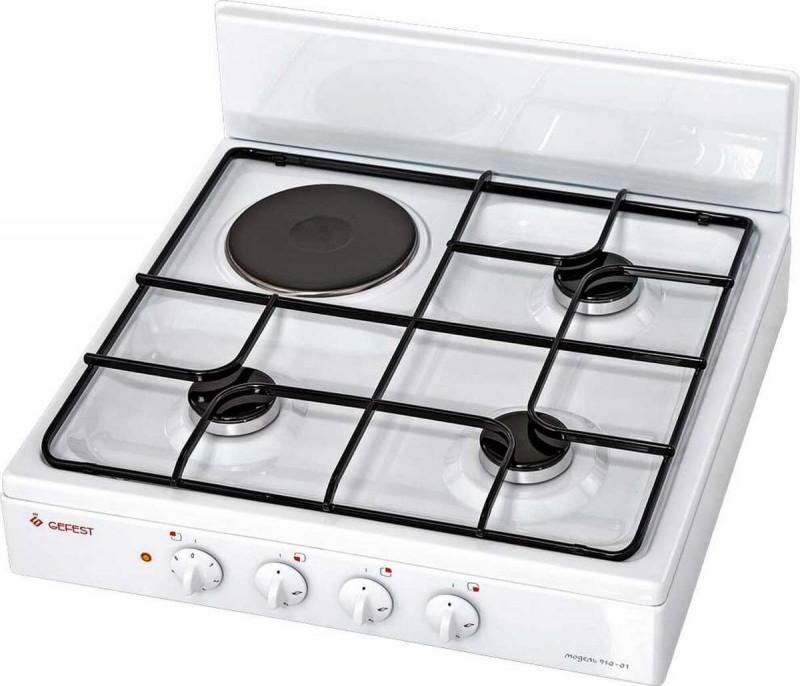 Настольная плита Gefest ПГЭ 910-01 - вид сбоку