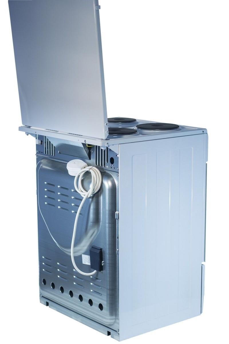 3D модель: электрическая плта GEFEST 6140-01 вид сзади