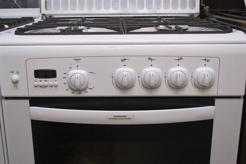 Газовая плита Gefest 6100-04 - панель управления