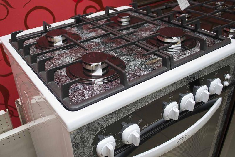 Газовая плита Gefest 1500 - конфорки