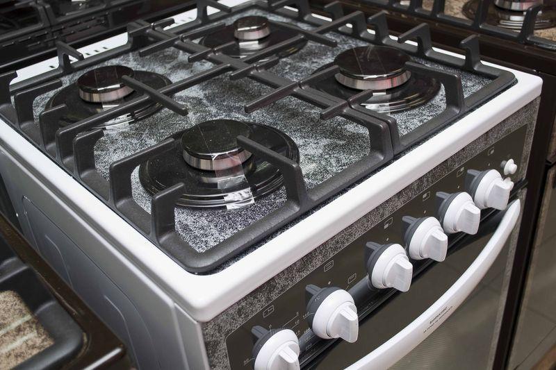 Газовая плита Gefest 3500 - конфорки