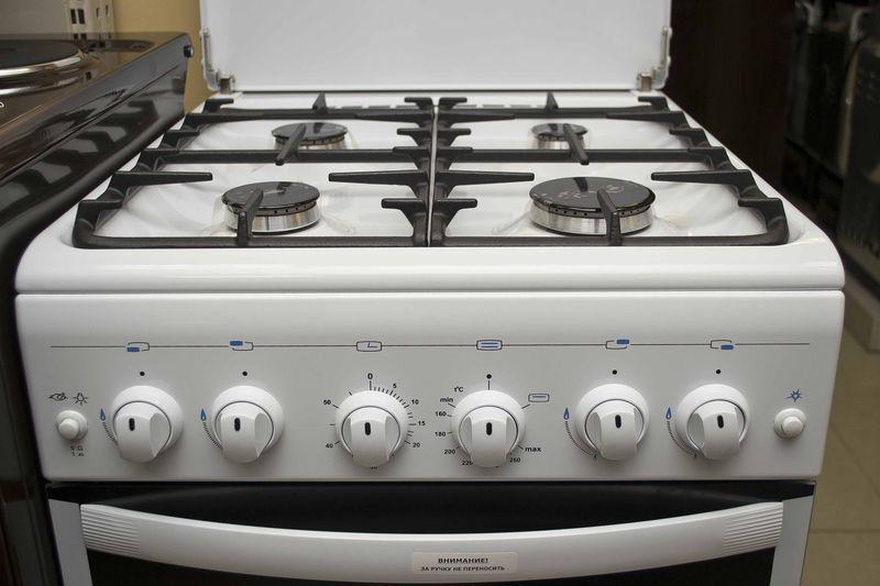 Газовая плита Gefest 5100-02 - панель управления