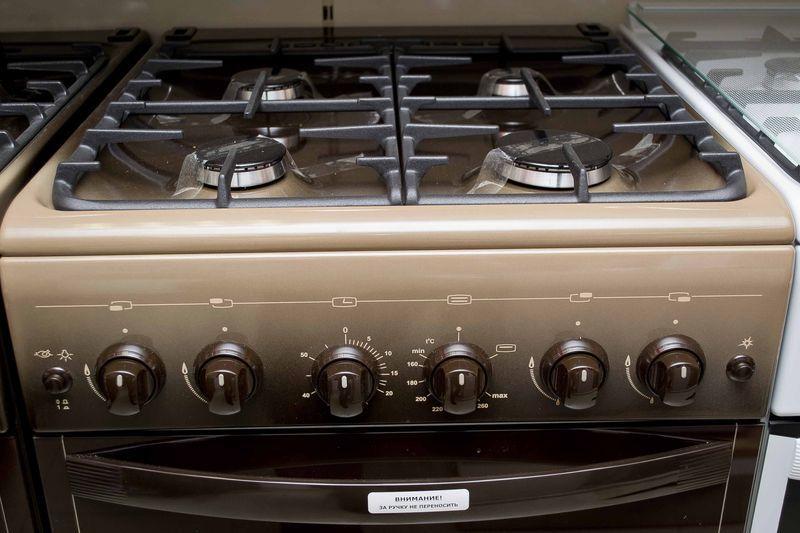 Газовая плита Gefest 5100-02 0001 (5100-02 К) - панель управления