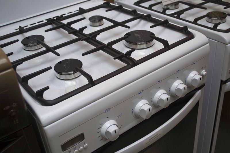 Газовая плита Gefest 5100-04 - фасад - конфорки
