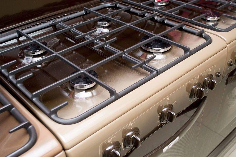Газовая плита Gefest 6100-02 0010 (6100-02 T2К) - конфорки