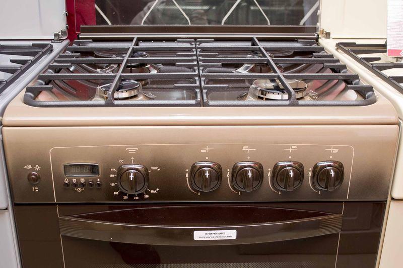 Газовая плита Gefest 6100-04 0003 (6100-04 СK) - панель управления