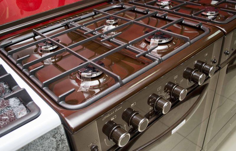Газовая плита Gefest 6300-02 0047 (6300-02 СД1К) - панель управления