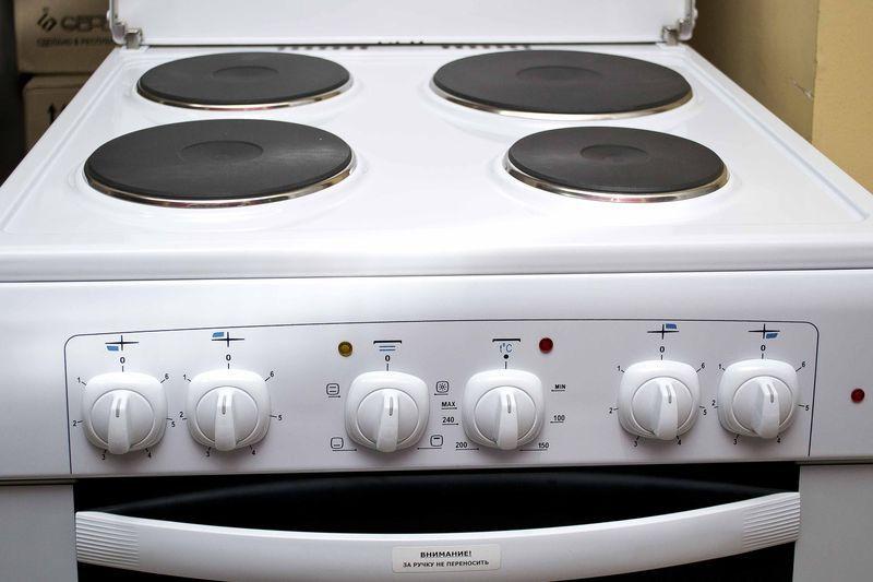 Электрическая плита Gefest 6140-01 - панель управления