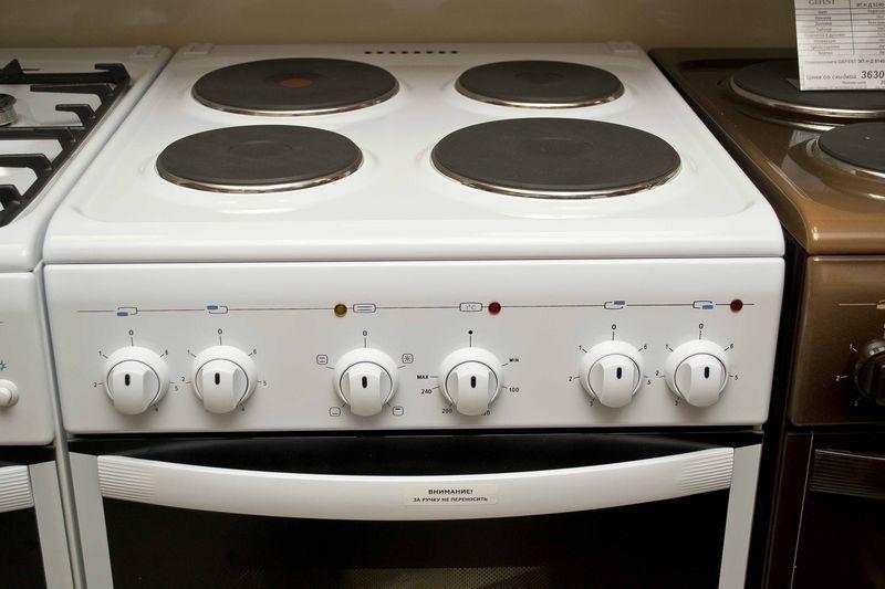 Электрическая плита Gefest 5140-01 - панель управления