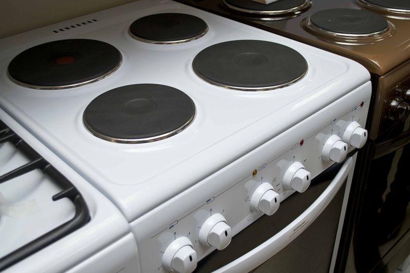 Электрическая плита Gefest 5140-01 - конфорки