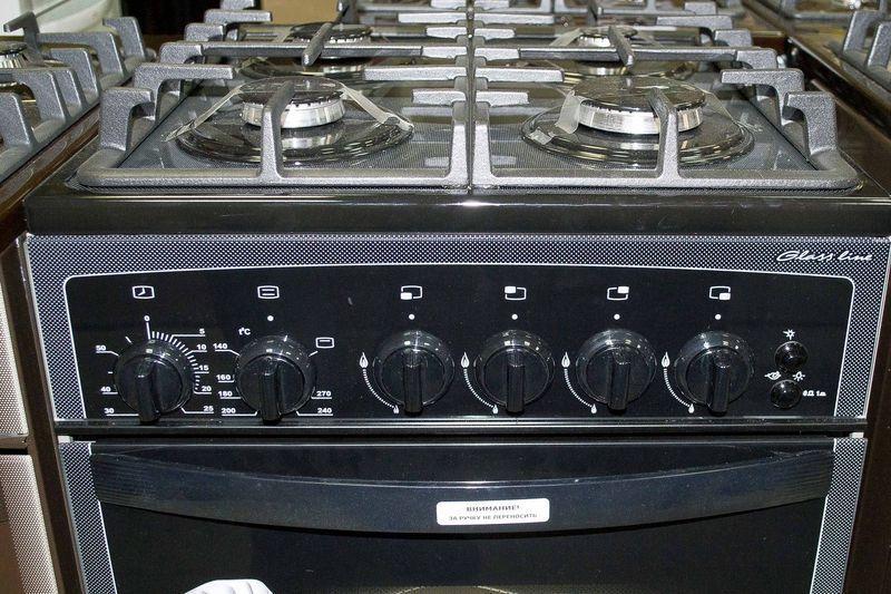 Газовая плита Gefest 3500 К32 - панель управления