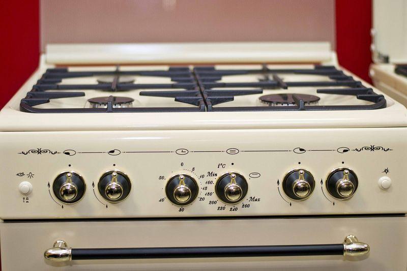 Газовая плита Gefest 6100-02 0082 - панель управления