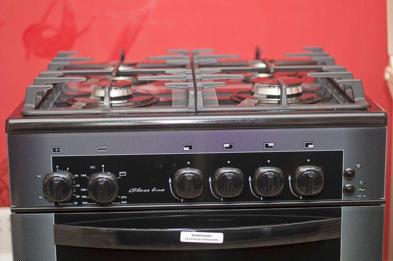 Газовая плита Gefest 1500 К32 - панель управления