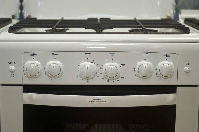 Газовая плита Gefest 6100-02 - панель управления