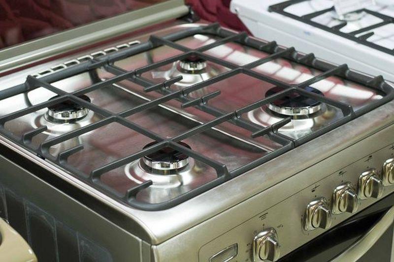 Газовая плита Gefest 6100-04 0004 (6100-04 СН2) - стол - конфорки