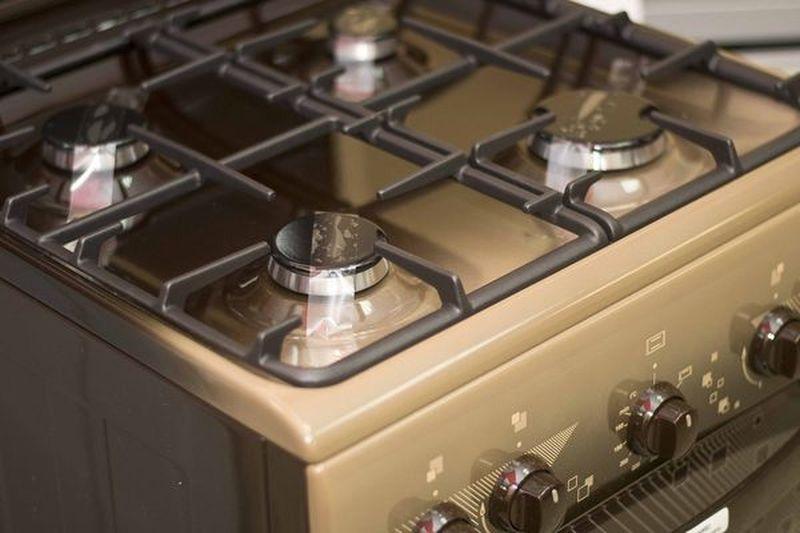Газовая плита Gefest 5100-02 0010 (5100-02 Т2 К) - конфорки
