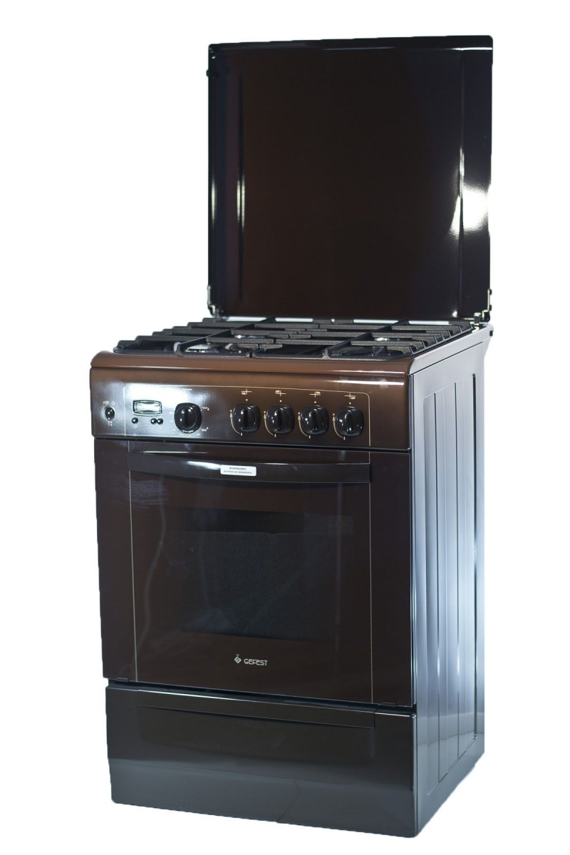 3D модель: газовая плита GEFEST  6100-03 0001 фасад и панель