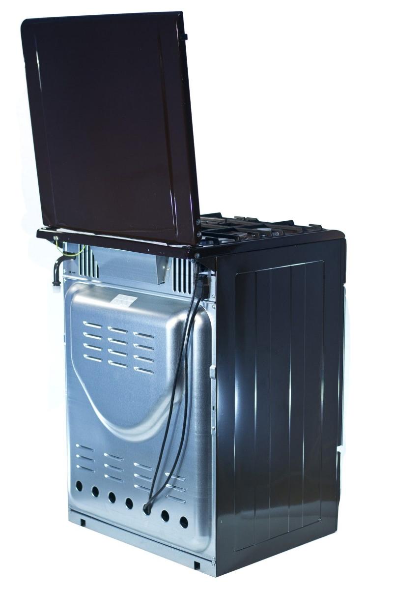 3D модель: газовая плита GEFEST  6100-04 0001 вид сзади