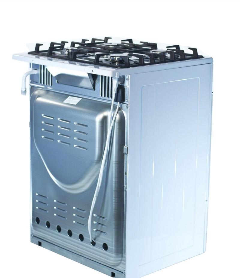 3D модель: газовая плита GEFEST 6500-02 0042 вид сзади