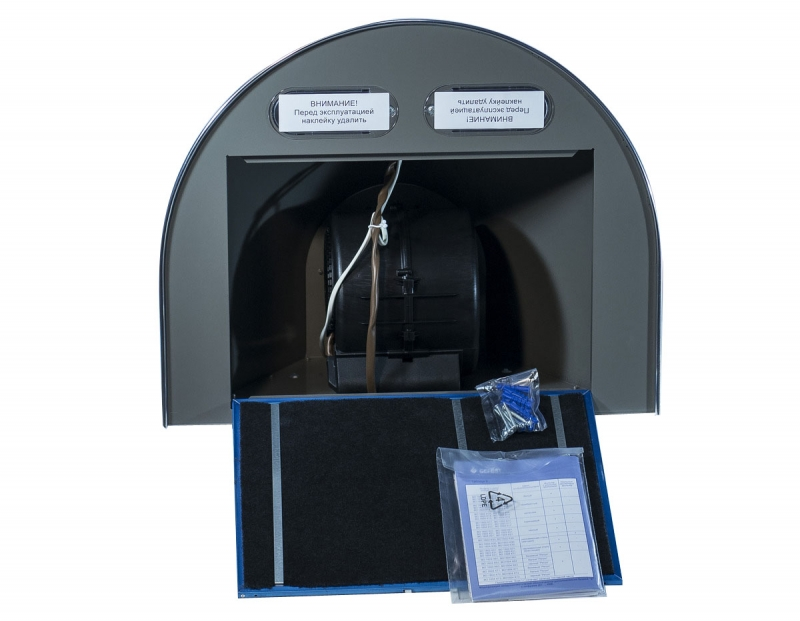 3D модель: кухонная вытяжка GEFEST 1603 К12 изнутри
