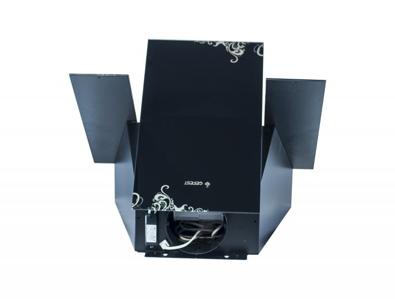 3D модель: декоративная кухонная вытяжка GEFEST 3603 К19 вид сверху