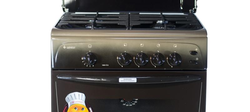 3D модель: Газовая плита Gefest 1200 С6 К59 панель управления