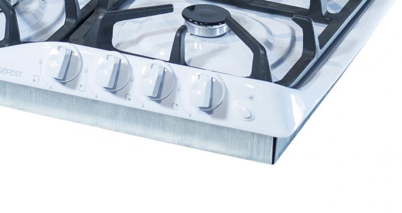 3D модель: варочная панель GEFEST 1210 К4 панель управления