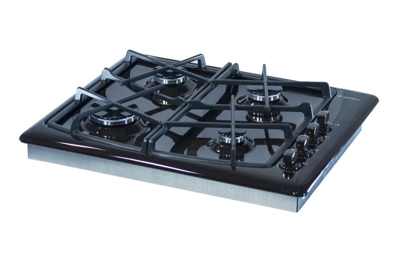 3D модель: варочная панель GEFEST 1211 К17 вид вполоборота