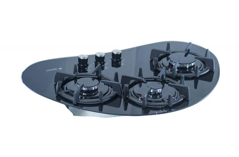3D модель: варочная панель GEFEST 2120 вид сзади