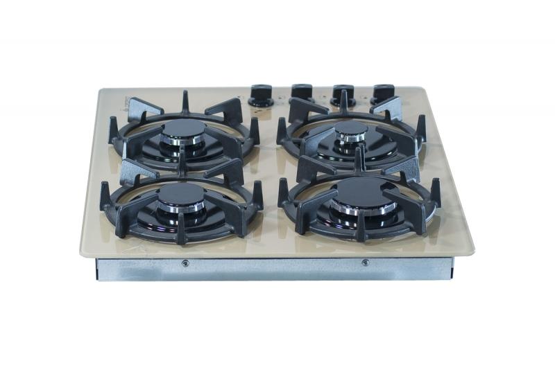 3D модель: варочная панель GEFEST 2230 К10 вид сзади