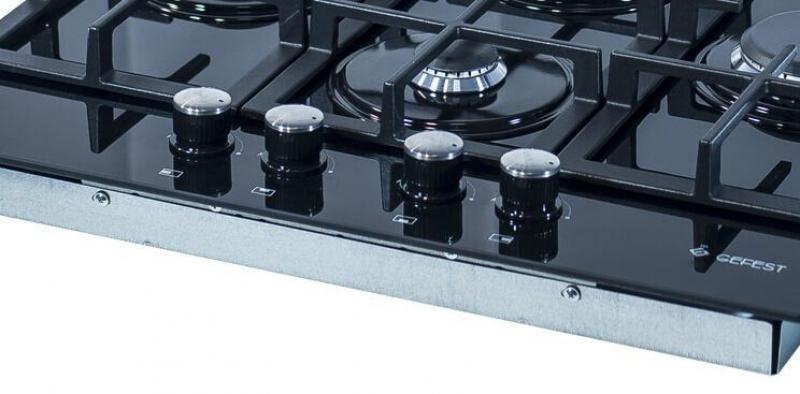 3D модель: варочная панель GEFEST 2231-05 К3 панель управления