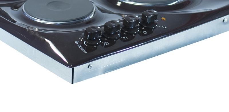 3D модель: электрическая варочная панель GEFEST 3210 К17 панель управления
