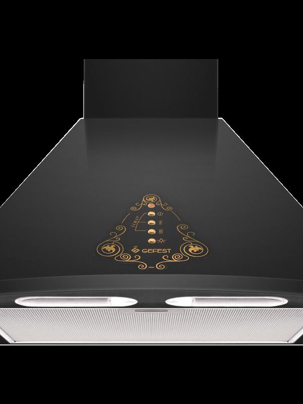 Кухонная вытяжка Gefest ВО 1604 К73 освещение